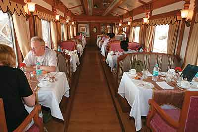 Stately Carriage South India's first luxury train