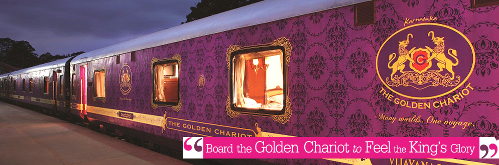 Golden Chariot Luxury Train Travel in India